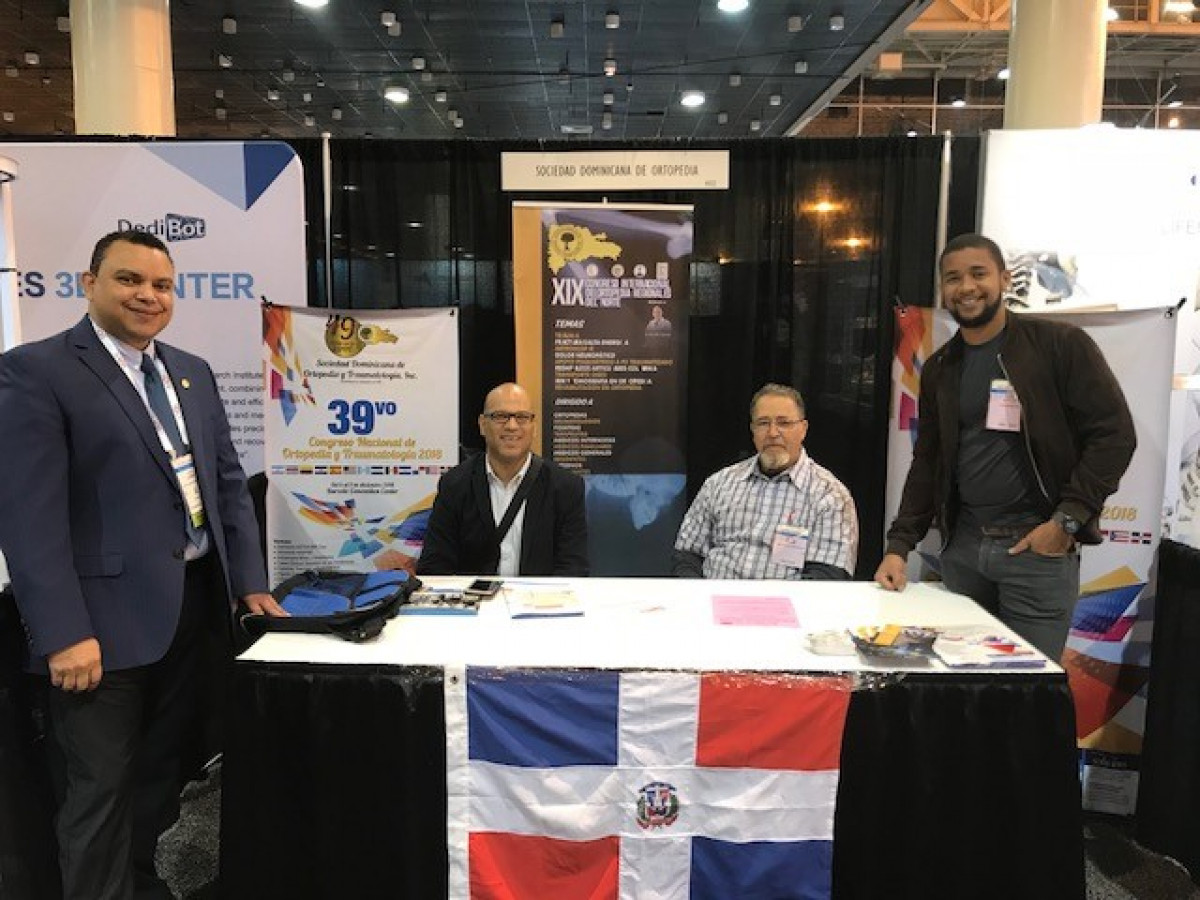 FOTOS MEETING AAOS 2018