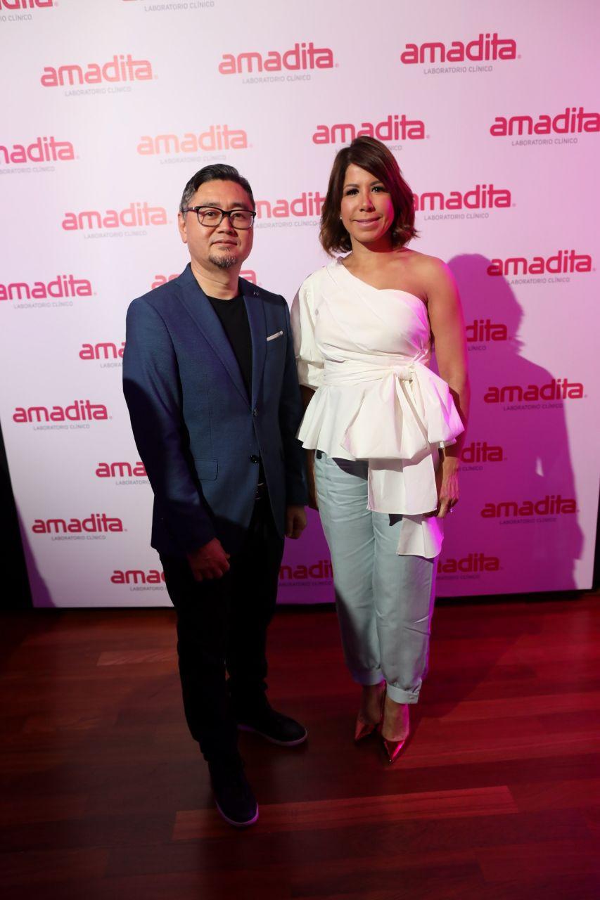 Mite Nishio y Patricia Marcano