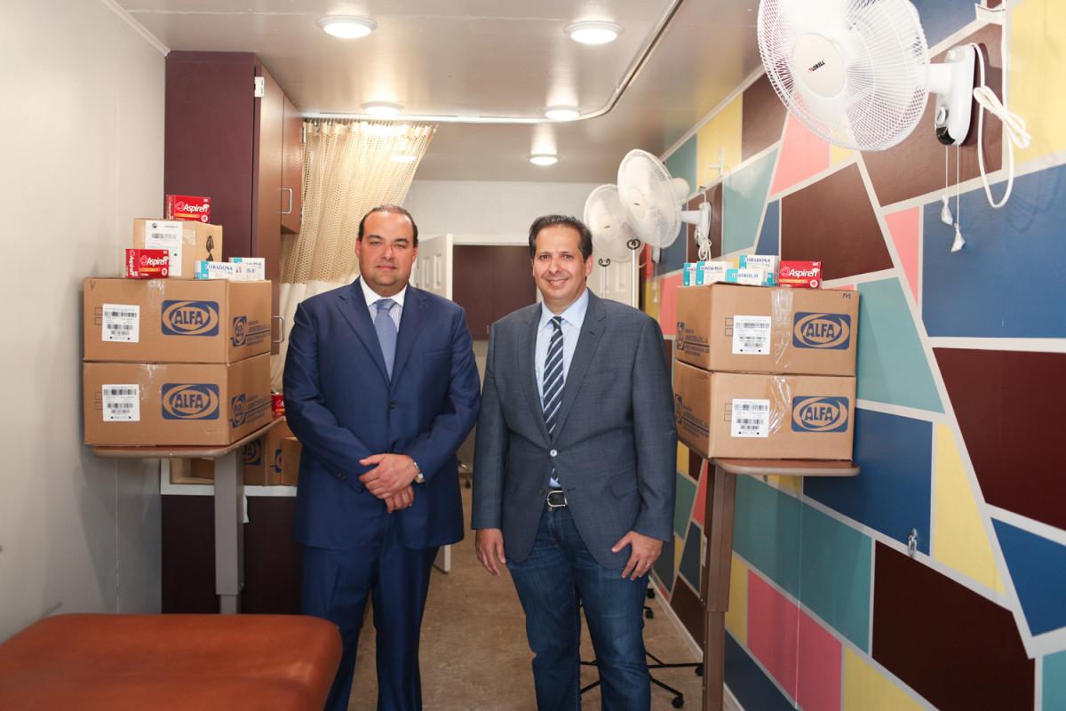 Sr. Christian Farach y Dr. Victor Atallah